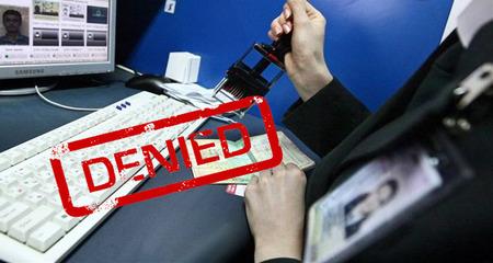 Запрет на въезд в рф иностранным гражданам как узнать черный список